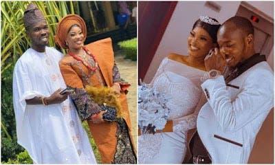 Nollywood Actor, Tayo Amokade AKA Ijebu, Weds (Photo) Nollyw19