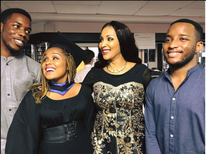 Biafra Warlord, Ojukwu's Pretty Daughter Graduates In Style From UK University (Photos) Ojukw10