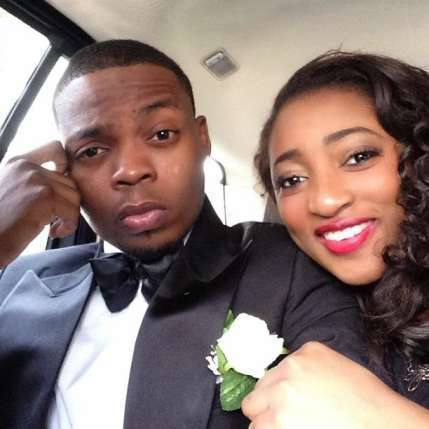 Olamide welcomes second son in US with his fiancee and mother of his first child Olamid19