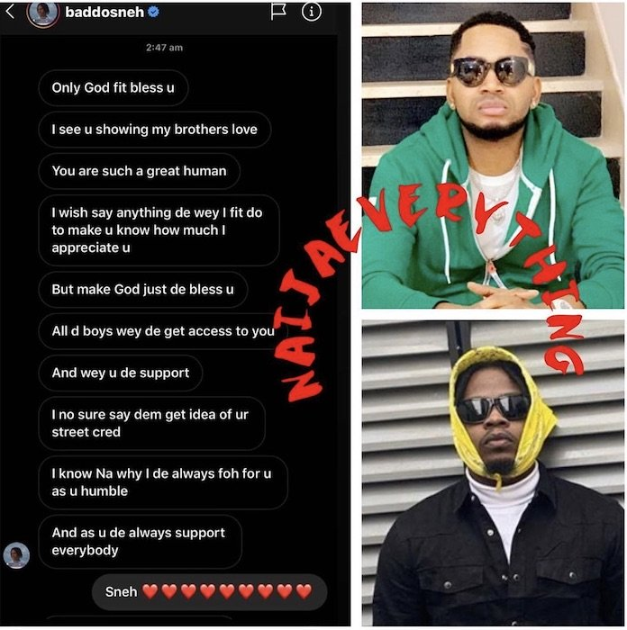 Olamide Shows Gratitude To Baddy Osha For His Support Olamid43