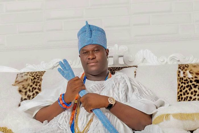 """""""It Is Time To Retreat To Avoid Hijacking"""" – Ooni Of Ife Pleads To Protesters Ooni_o10"""