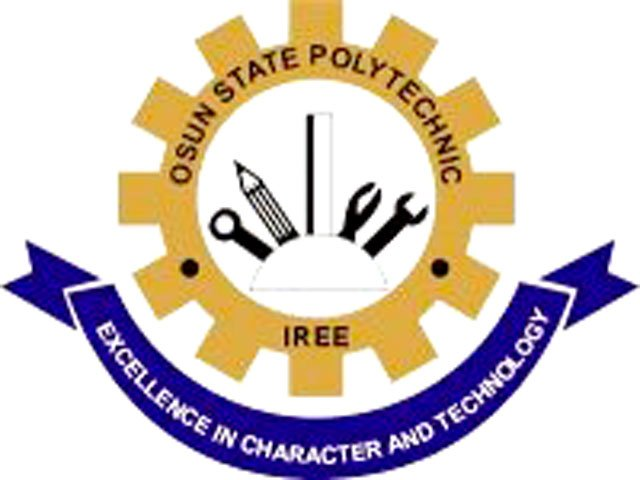 2018/2019 Osun State Polytechnic (OSPOLY) Iree DPT Acceptance Fee  Osun-s13