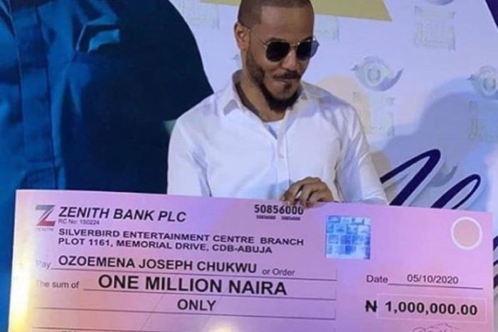 Ozo Fans In Abuja Throw Him A Lavish All-White Party And Gifts Him N1 Million (Video+Photos) Ozo-bb10