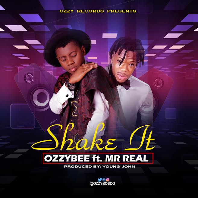 [Download Music]  Shake It by Ozzybee Ft. Mr Real  Ozzybe10