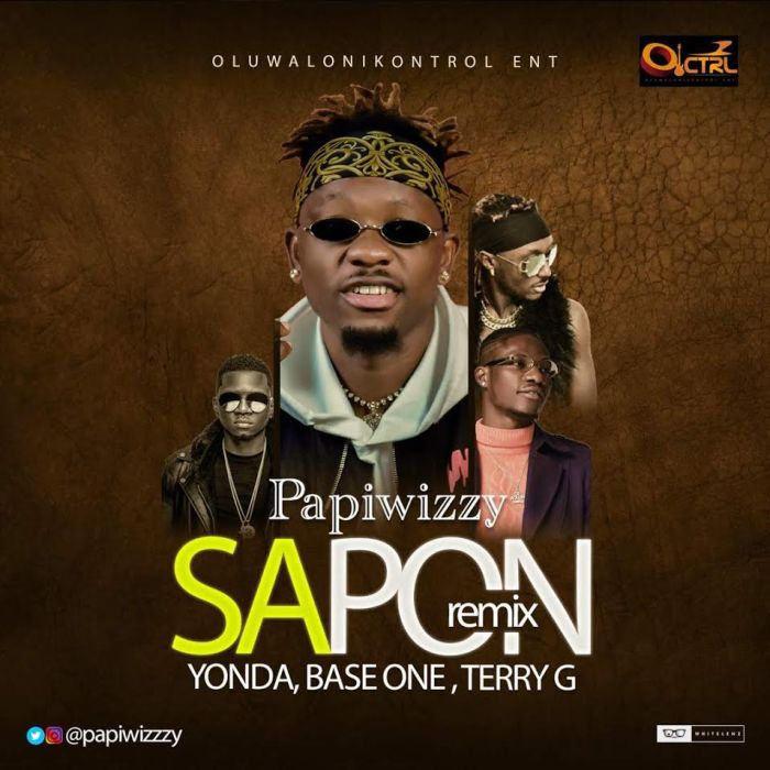 [Download Music] Papiwizzy Ft. Yonda, Baseone & Terry G – Sapon (Remix) Papiwi10