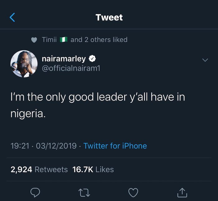 """""""I'm The Only Good Leader You Have In Nigeria"""" – Naira Marley Declares Photo_11"""