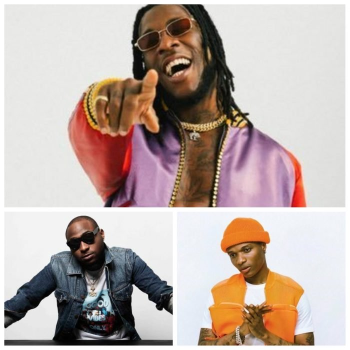 After Winning 'Best Africa Act Award', Can We Put Burna Boy At The Same Level With Davido And Wizkid? Photog13