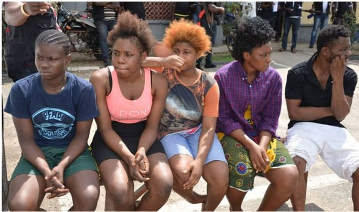'We Sleep With Seven To Ten Men Daily' – Arrested Prostitutes (Photo) Prosti10