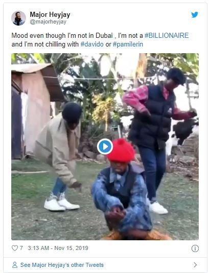 Nigerians Reacts As Davido Takes His DMW Crew Shopping In Dubai Reatio11
