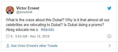 Nigerians Reacts As Davido Takes His DMW Crew Shopping In Dubai Reatio12