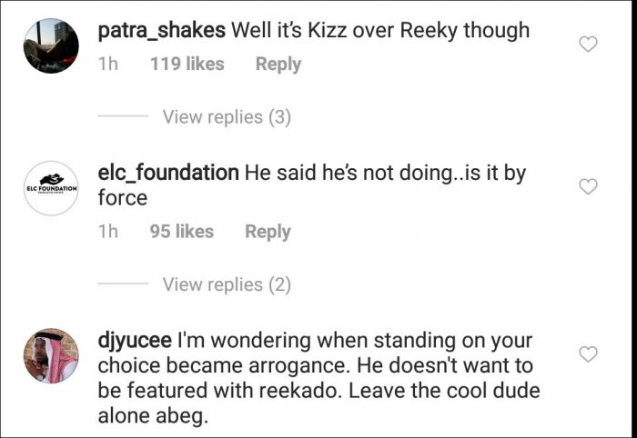 I Don't Want To Be On Any Song With Reekado Banks – Kizz Daniel Sparks Reek-210