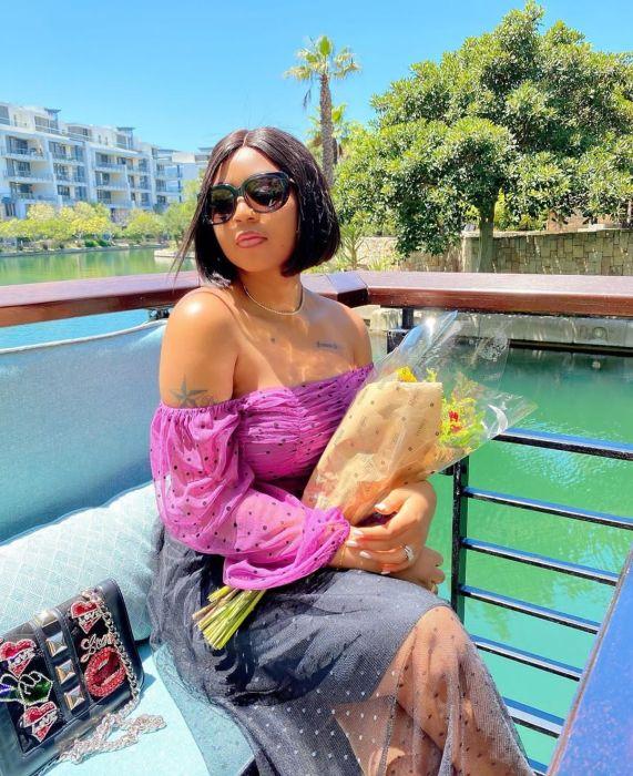 Regina Daniels Flaunts The Gucci Bag Her Co-Wife, Laila Nwoko Gifted Her (Video) Regina48