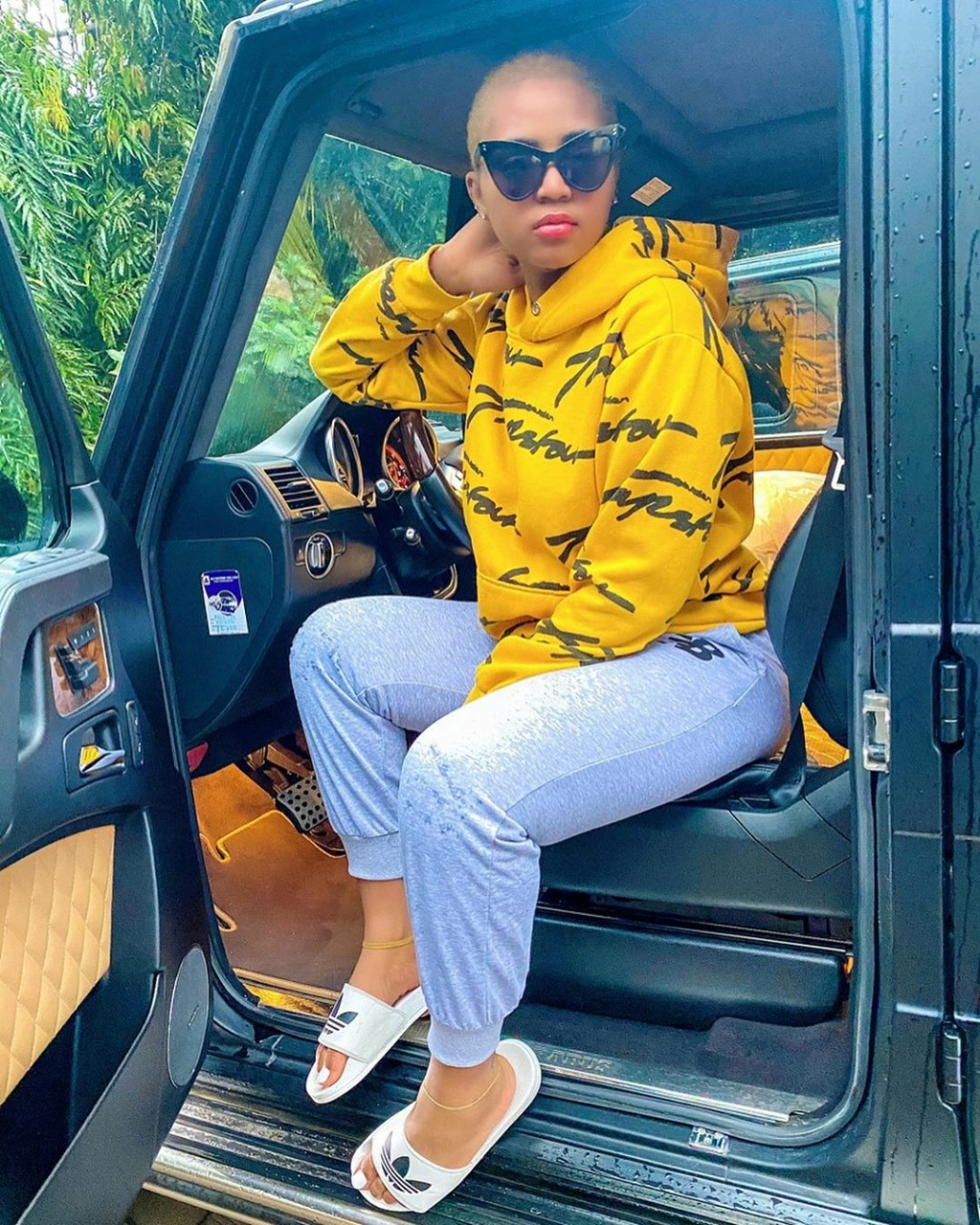 Photo Of Regina Daniels With Her Co-Wife, Laila And Their Kids Regina72