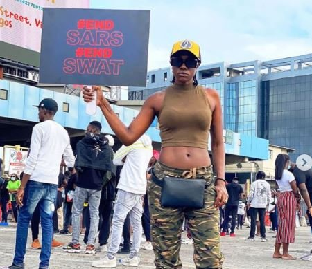 EndSARS: I Was Beaten & Arrested By SARS – Actress Beverly Rgrfh10
