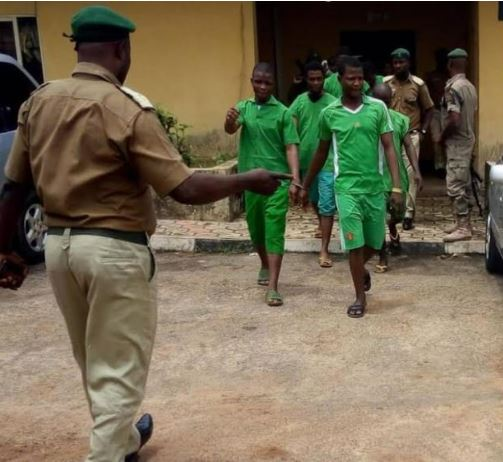 Seven Armed Robbers To Die By Hanging In Ondo (Photo) Robber13