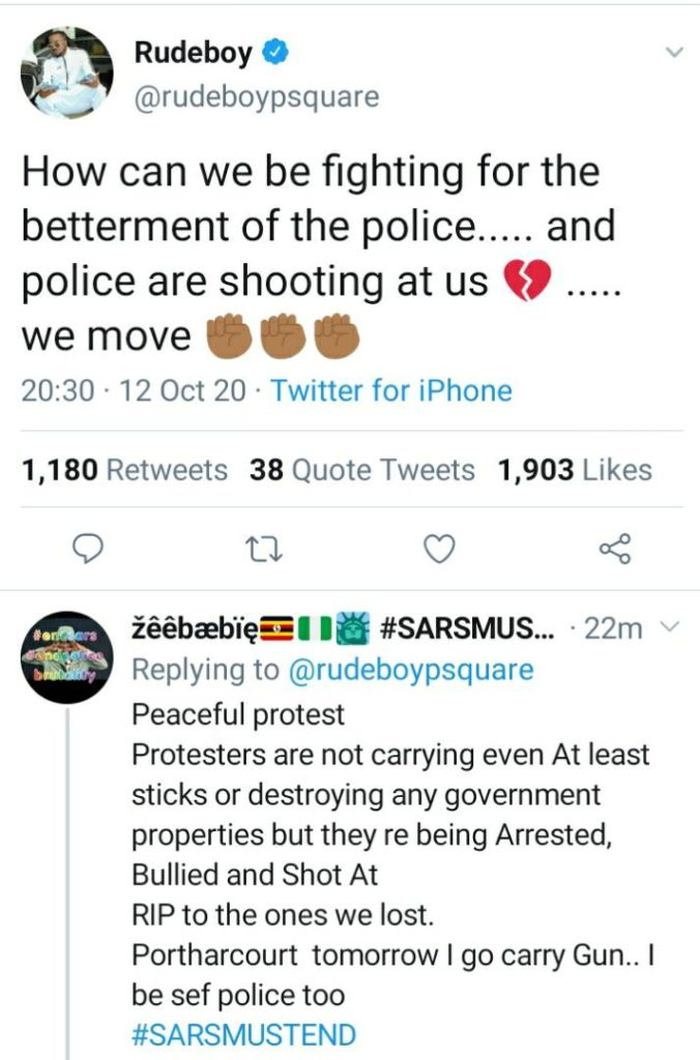 How Can We Be Fighting For The Betterment Of The Police And They Are Shooting At Us – Rudeboy Angrily Rudebo32