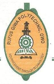 2018/2019  Rufus Giwa Polytechnic, Owo (RUGIPO) ND & HND Admission Lists  Rugpol10