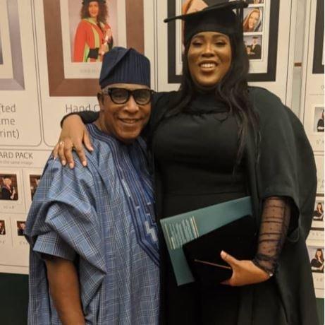 Actor Adebayo Salami's Daughter Graduates From UK University Salami10