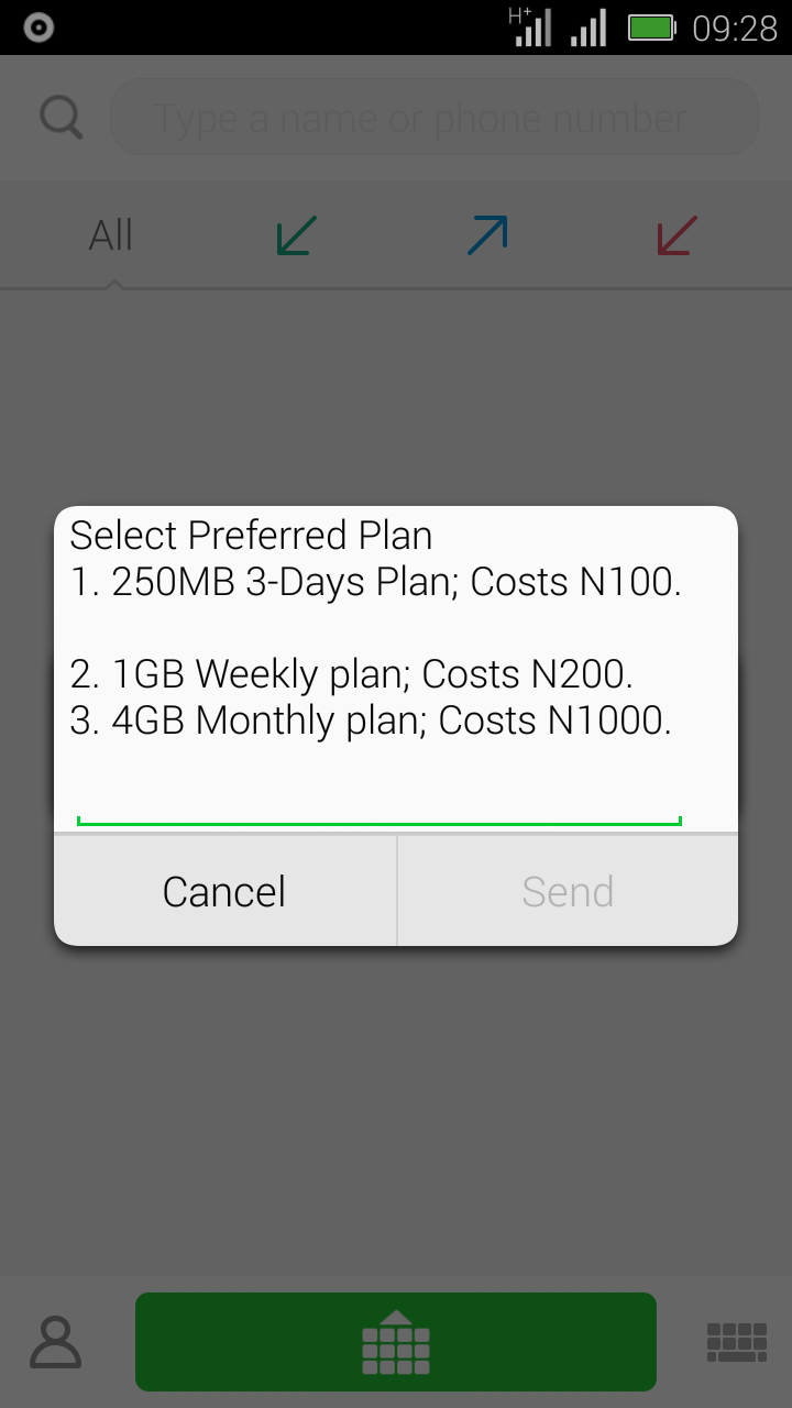 Mtn Special Data Offer for Eligible Subscribers  Scree126