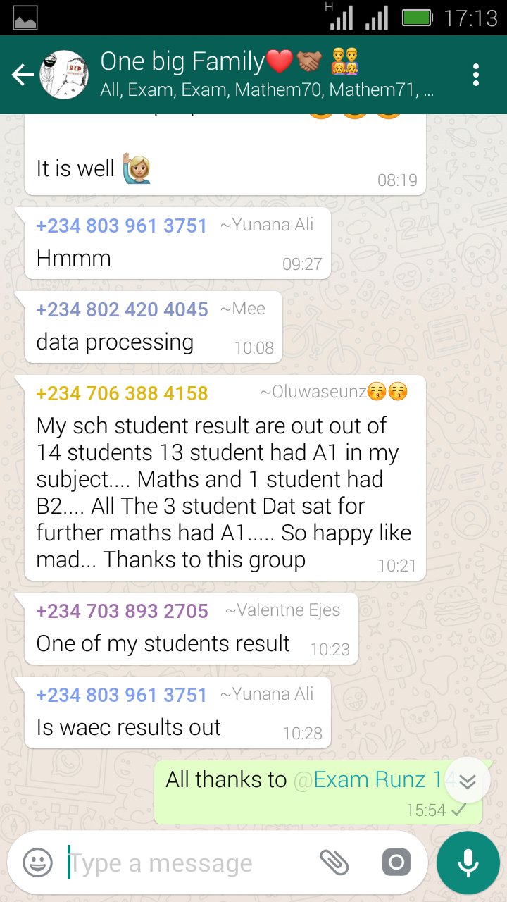 How To Get 2018 Waec Gce Questions and answers   Aug/Oct Waec Exam  Screen20