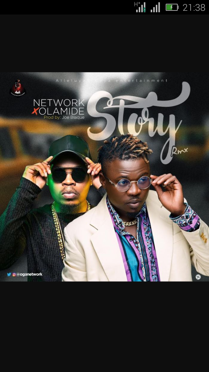Network Ft. Olamide – Story (Remix) | 9Jatechs Video  Screen63