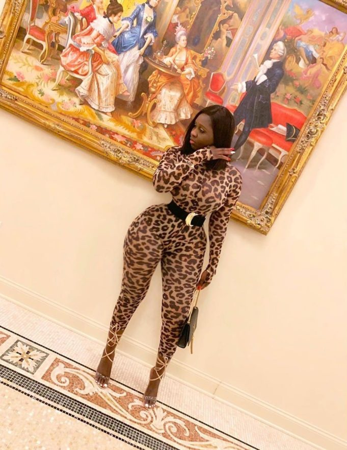 """You Had A Miscarriage Because Of Your Tiny Waist"" – Lady Drags Actress, Princess Shyngle Shyngl10"