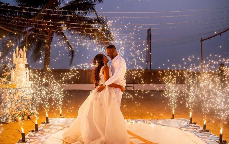 Simi Pens Down Lovely Text For Adekunle Gold As They Celebrate Their 1st Wedding Anniversary Simi_711