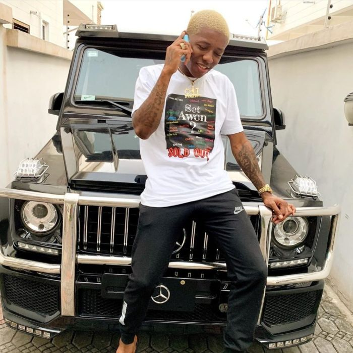"""I Was Once A Bus Conductor, Bike Rider"" – Small Doctor Says As He Flaunts G-Wagon Small-19"