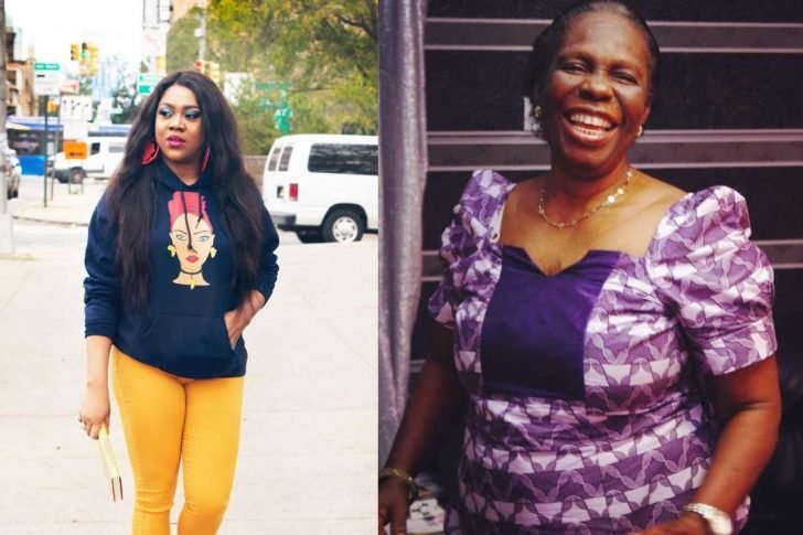 Stella Damasus Mourns The Death Of Her Mother-in-law Stella12