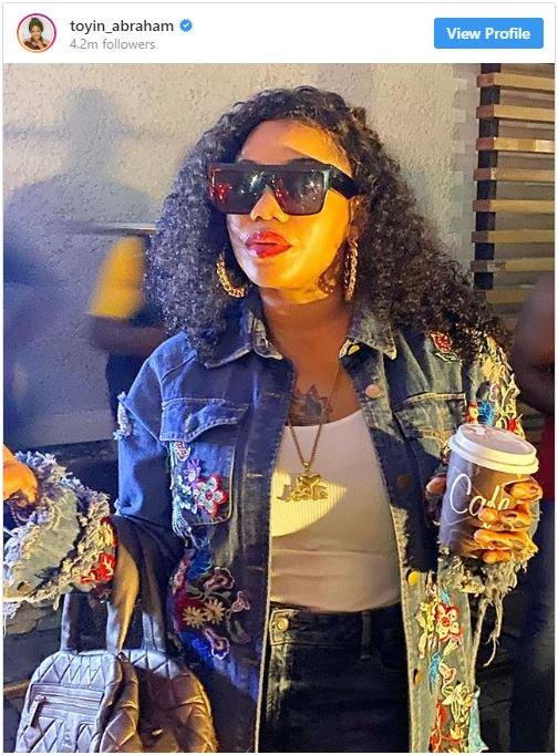 "Toyin Lawani Makes Nollywood Debut In Toyin Abraham ""'Fate Of Alakada"" T-111"