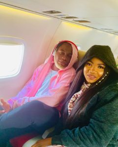 Slimcase & Tacha Spotted In A Studio Together Recording A Song (Watch Video) Tacha-60