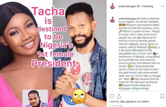 Topics tagged under bbnaija on 9jaloud Forums Tacha-61