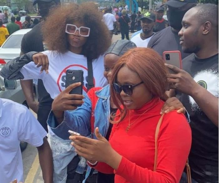 Tacha Wows Nigerians After Speaking With Channels TV On #EndSARS Movement Tacha116