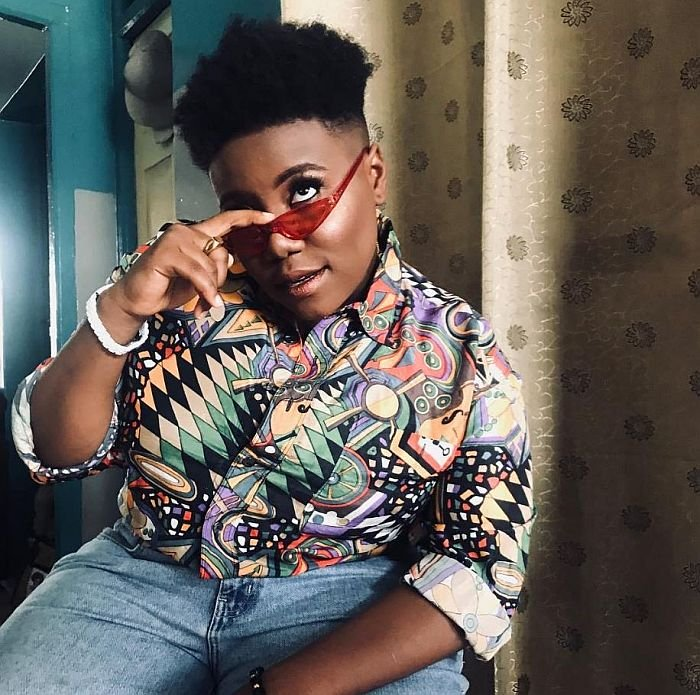 Watch The Moment Teni Kissed A Shy Male Fan During Her Performance (Video) Teni-112