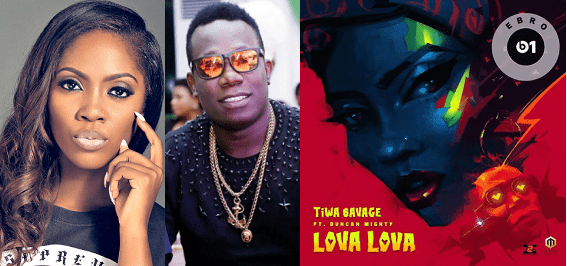 [Download Music] Lova Lova By  Tiwa Savage ft. Duncan Mighty  Tiwa-s11