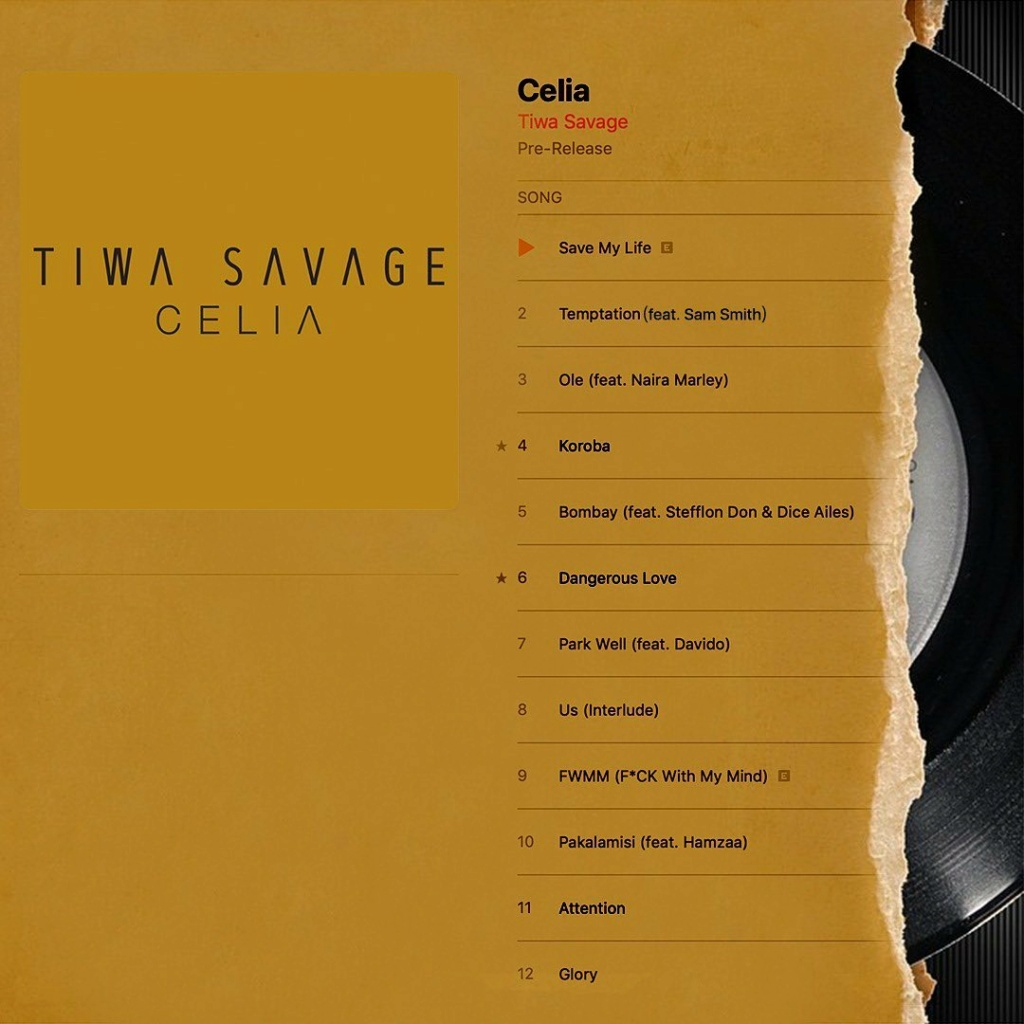 [Music] Tiwa Savage – Glory | Download Mp3 Tiwasa11