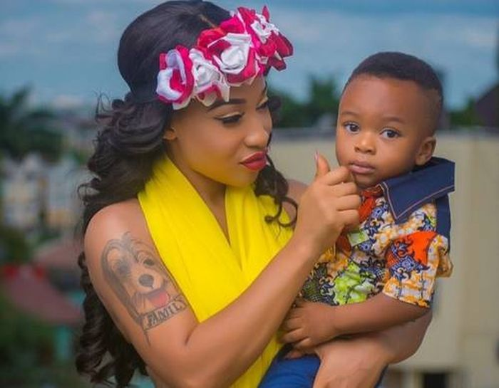 My Son Can't Have Two Yahoo Parents At Once — Tonto Dikeh Tonto-48