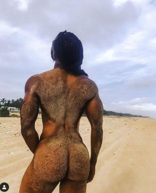 Toyin Lawani's PA Strips Completely Naked In New Photo Toyin-29