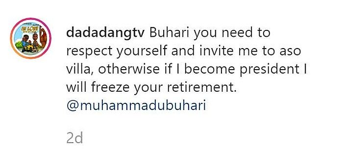 Speed Darlington Reveals His Plan For Buhari When He Becomes President (See His Pan) Uhg10