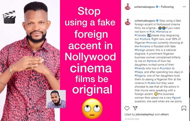 Stop Disgracing Our Culture – Maduagwu Slams Fake Actors, Actresses Um-72810