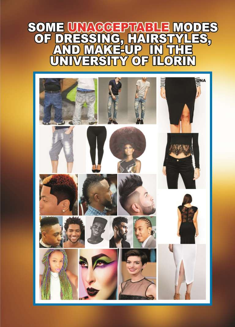 UNILORIN Acceptable & Unacceptable Modes of Dressing Unilor19