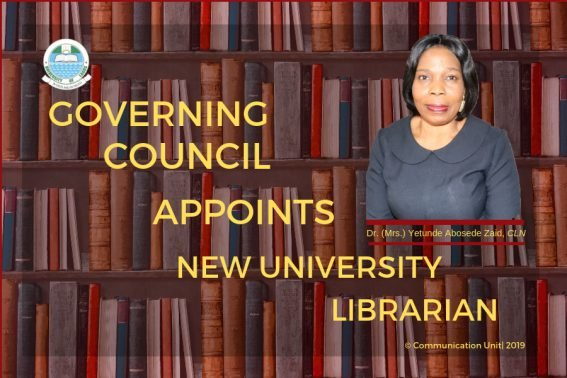 UNILAG Governing Council Appoints New University Librarian Univer18