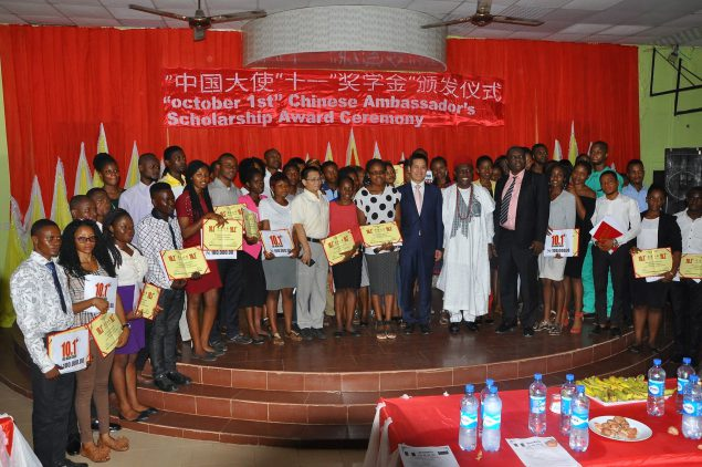 48 UNIZIK Students Bag Scholarship Awards from the Chinese Embassy Unizik18