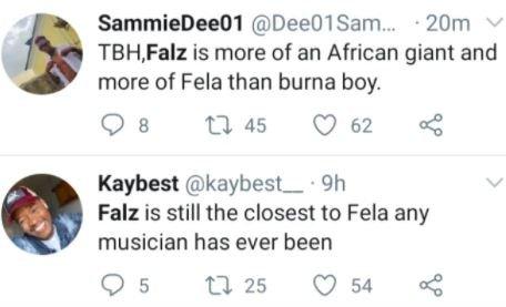'Falz Is Better Than Burna Boy' – Twitter Users Vfmkmf11