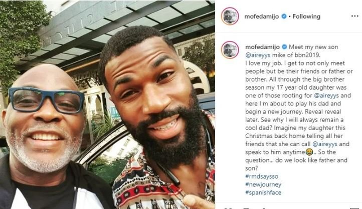 Mike Edwards Set To Feature In Movie With RMD (Photo) W14