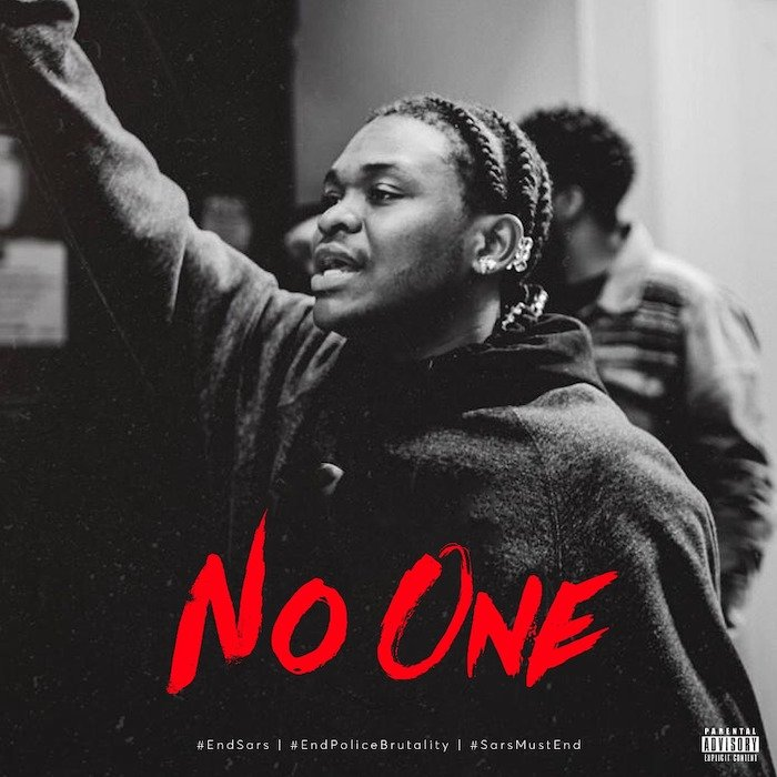 [Music] Dice Ailes – No One #EndSARS   Download Mp3 Whatsa73