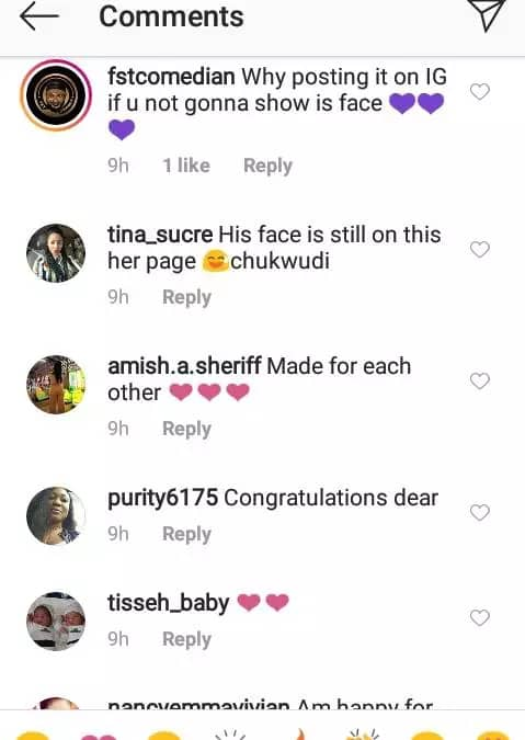 Why Are You Hiding Your Man's Face, Are You Not Proud Of Him? – Fans Quizzes Actress Angela Okorie Why-ar12