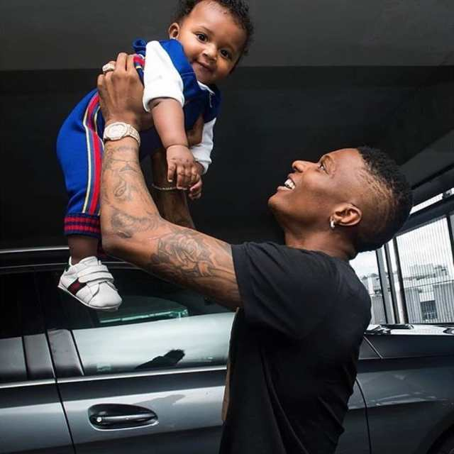 Wizkid Reveals What Happen Every Time His Sons Smile Wizki127
