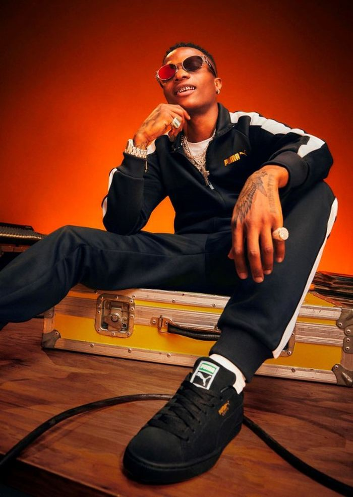 Wizkid Announced As New Face Of Puma Sportswear In Striking New Campaign Images (See Photos) Wizki181