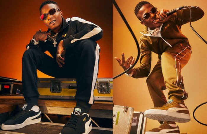Wizkid Announced As New Face Of Puma Sportswear In Striking New Campaign Images (See Photos) Wizki182